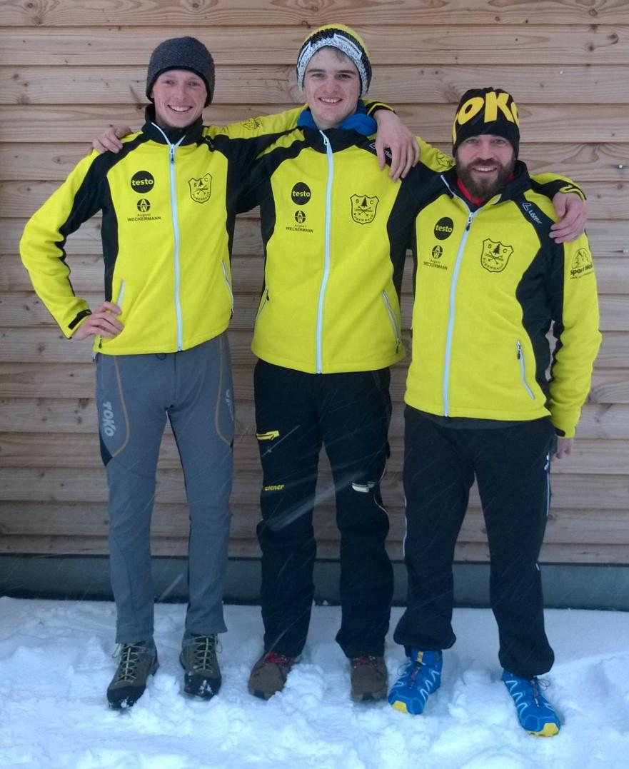 Schwarzwaldmeister Staffel 2017 (Arnt König, Marco Rohrer, Bastian Gloeden)